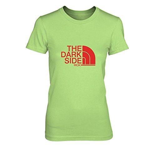 The Dark Side - Damen T-Shirt, Größe: XL, Farbe: hellgrün