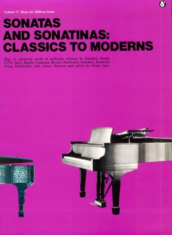 Sonatas And Sonatinas: Classics To Moderns MFM 67 (Music For Millions)
