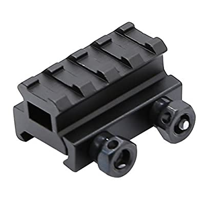 "High Quaility 4 Slot Hollow 3/4"" inch riser mount by Golden Eye Tactical by Golden Eye Tactical"