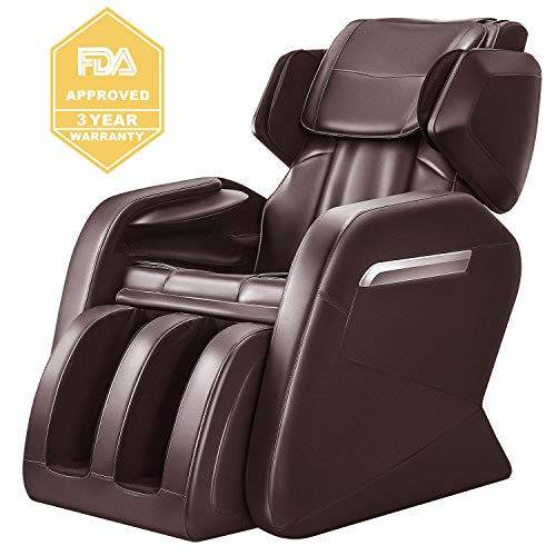 OOTORI Full Body Massage Chair, Zero Gravity Neck Back Legs and Foot Shiatsu Massager with Heat and...