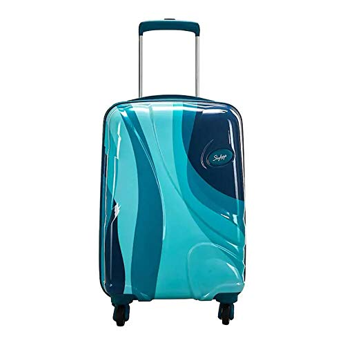 Skybags Polycarbonate Rio Strolly 79 360° |Teal Blue