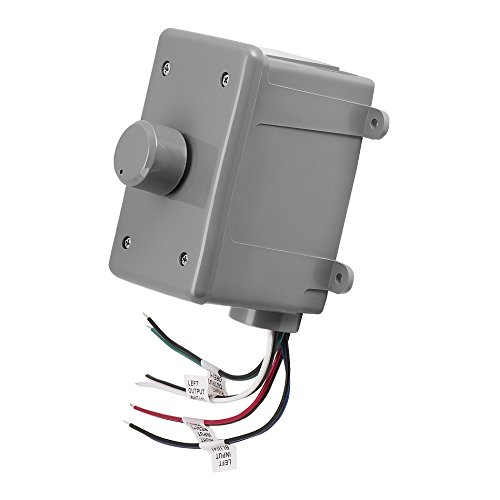 Volume Box Control Weatherproof - OVC305 Resistor Based 300W Rotary Knob Style Outdoor Weather Resistant Housing Volume Control - OSD Audio - (Grey)