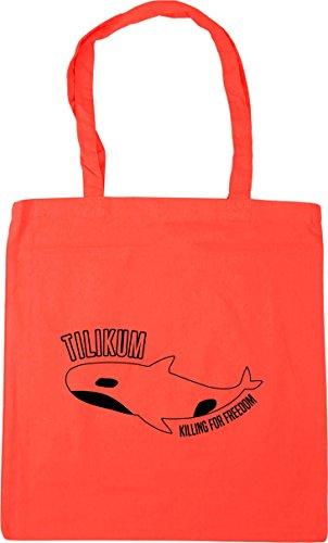 Bag x38cm Beach HippoWarehouse For Freedom Tote litres Killing Coral Tilikum 42cm Shopping 10 Gym xvq18