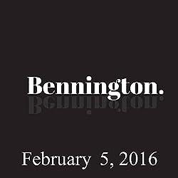 Bennington, February 05, 2016