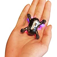 Fineser SH10 6cm Mini Drone with 0.3MP HD Camera Live Video 2.4GHz 6-Axis Gyro Quadcopter with Altitude Hold, Headless Mode and One Key Take off (Black)