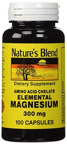 Natures-Blend-Elemental-Magnesium-Amino-Acid-Chelate-300-mg-100-Caps