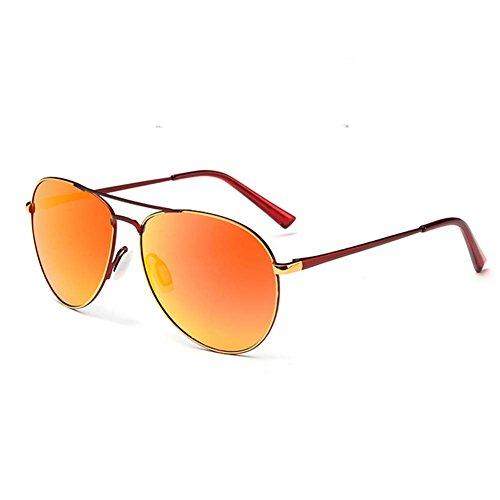 My.Monkey Mens Fashion Retro Round Colourful Lenses Metal Frame - Wiki Jacobs Sunglasses John