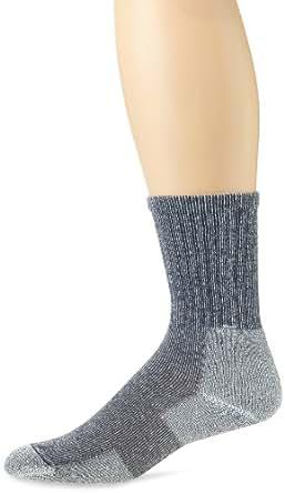 Thorlo Unisex Ultra Lite Crew Sock, Lake Blue, Medium