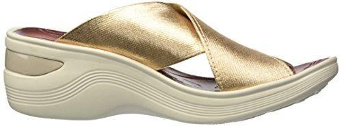 BZees Desire Sandal Metallic Women's Gold Gore wUwq4P0
