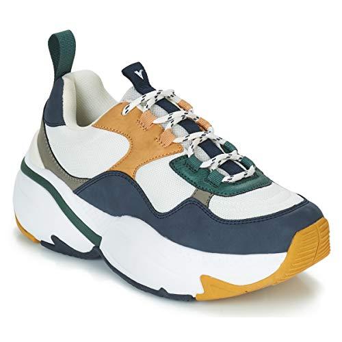 Femmes Bleu Victoria Bas Baskets 147102 Chaussures BC8Cxwq5