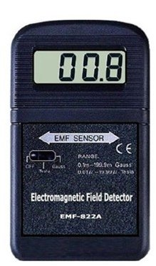 EMF-822A/ Used To Measure Industrial, Scientific & Paranormal Electromagnetic Field Radiation Levels