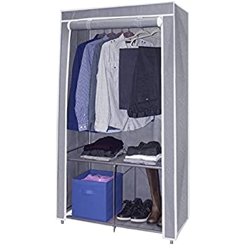 portable wardrobe with cover kmart instructions