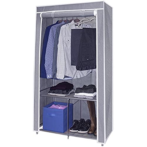 Sorbus® Wardrobe Closet Portable Non Woven Fabric Free Standing Storage  Organizer   Portable, Detachable, And Lightweight Clothing Closet