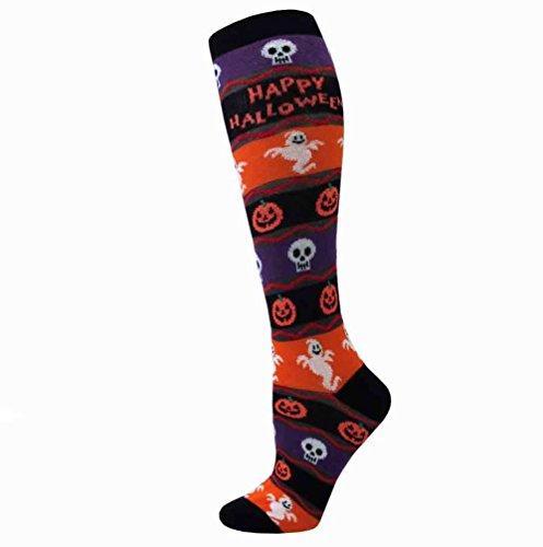Davco Happy Halloween Knee High Socks