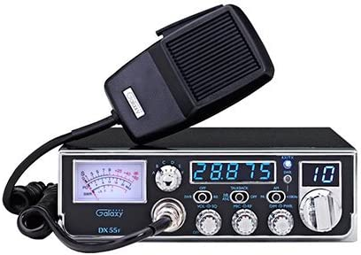 Galaxy DX55F Compact 10 Meter Amateur Radio With 5 Digit Frequency Counter