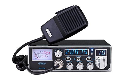 Galaxy DX55F Compact 10 Meter Radio With 5 Digit Frequency Counter (Meter 10 Galaxy Radios Cb)