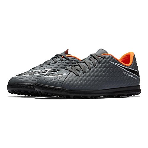Total Adulto Jr 5 TF 081 Dark Oran EU Zapatillas 38 Grey Deporte Unisex Phantomx 3 Club de Nike fwqn4H77