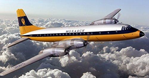 Roden 323?-?Model Kit Bristol 175?Britannia Monarch Airlines Grey by Roden