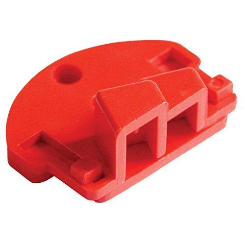 - Lockout Safety Supply 7284 Top Slide - Single Pole Breaker Lockout, Red