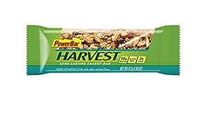 PowerBar Harvest Long Lasting Energy Bar, Apple Cinnamon Crisp, 10g Protein, 1.66 Ounce Bars (Pack of 15)