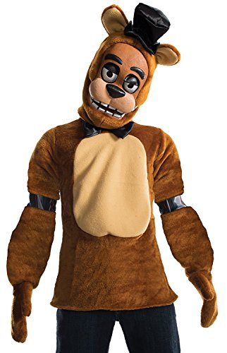 Five Nights At Freddy's Bear Costume (Rubie's Costume Boys Five Nights At Freddy's Fazbear Costume, Medium, Multicolor)