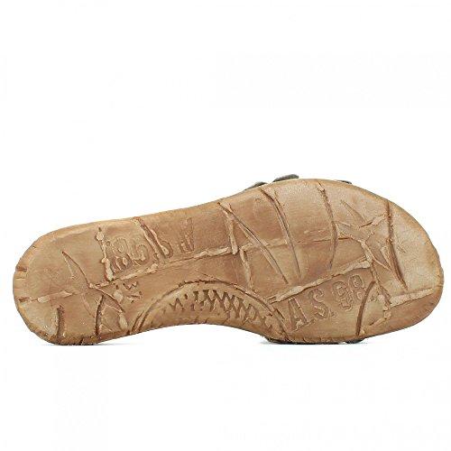 A.s.98 534044 Damen Sandale Pantolette Rino+militare