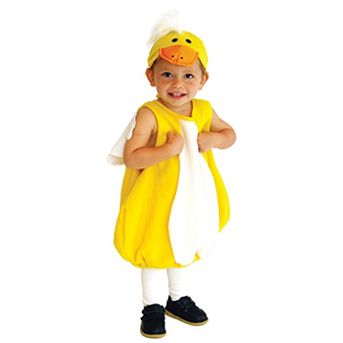 Spooktacular Infant and Toddler Baby Duck Costume with Hat, (Pocahontas Costume For Babies)