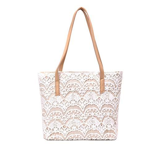 TWinmar Large Capacity Shoulder Bag,Womens Leisure Weaving Bags Fashion Boho Handbag Tote Messenger Multipurpose Bags