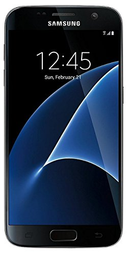 Samsung Galaxy S7 SM-G930T - 32GB - GSM Unlocked - Black Onyx (Renewed) (Samsung Galaxy S4 Sprint)