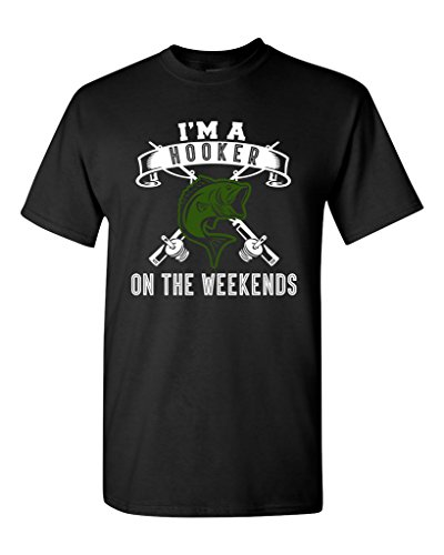 im-a-hooker-on-the-weekends-fishing-fish-funny-humor-dt-adult-t-shirt-tee-large-black