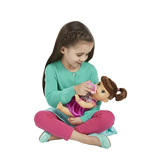 41T4XQinV%2BL - Baby Alive My Baby All Gone Doll, Brunette (Discontinued by manufacturer)
