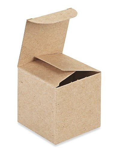 A1BakerySupplies Kraft Gift Boxes Brown product image