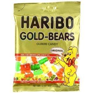 Haribo, Gummi Candies, Gold Bears, 5oz Bag- 6 pack