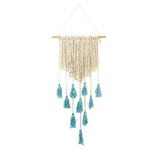Wall Hanging Handwoven Bohemian Cotton Rope Boho Tapestry Home Decor
