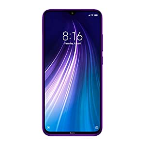 Redmi Note 8 (Cosmic Purple, 6GB RAM, 128GB Storage) – Upto 6 Months No Cost EMI