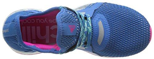 para Zapatillas Azumin Running X Supazu Azul Adidas Mujer Rosa Rosimp Pureboost de qxXEa1
