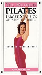 product image for The Method - Pilates Target Specifics: Abs, Arms, Hips, Thighs [VHS]