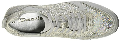 Tamaris 23601 - Zapatillas Mujer Plateado (SILVER COMB 948)