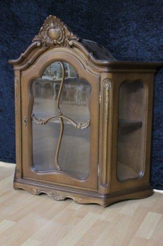 Chippendale Vitrinen Hängeschrank gebraucht Antik Stil KeVi0605 ...