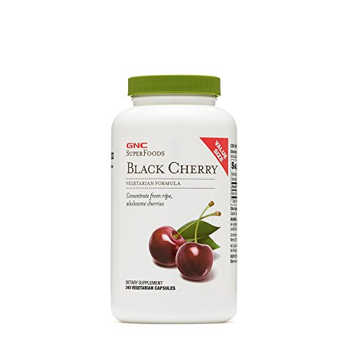 GNC Black Cherry SupeFoods, Concentrate from Black Cherries - Value Size
