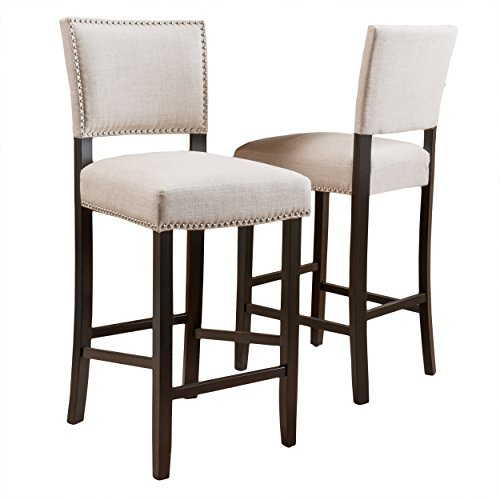 upholstered bar stools - 4