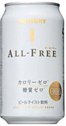 Suntory All free non-alcoholic taste beverage alcohol 0.00% 350X24 this by Suntory Liquors
