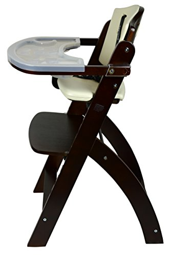 Abiie Beyond Wooden High Chair With Tray The Perfect Adjustable Baby Highchair Solution For Your Babies And Toddlers Or As A Dining Chair 6 Months