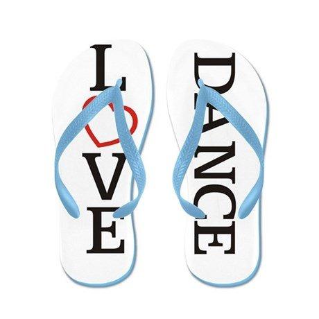 Lplpol Big Love Dance Flip Flops for Kids Adult Beach Sandals Pool Shoes Party Slippers Black Pink Blue Belt for Chosen