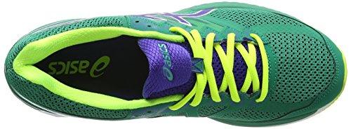 ASICS - Gt-2000 4, Zapatillas de Running hombre Verde (pine/asics Blue/flash Yellow 8843)