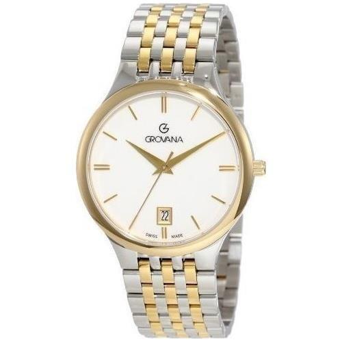 Grovana Men's 2013.1143 Classic Dress Analog White Watch