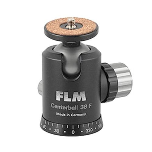 FLM CB-38F 38mm Ballhead with Friction Control, 55.11 lbs Load Capacity by FLM