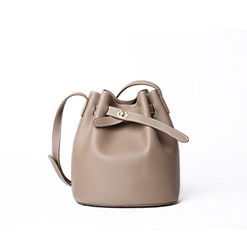 Caqui MinottaUKD6006 Sintético bolso mano Minotta de elegante de Mujer qnw4n8Rd