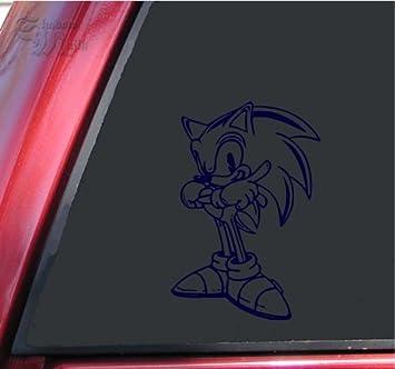 "Sonic the Hedgehog Funny Vinyl Decal Sticker Car Window bumper laptop 12/"""