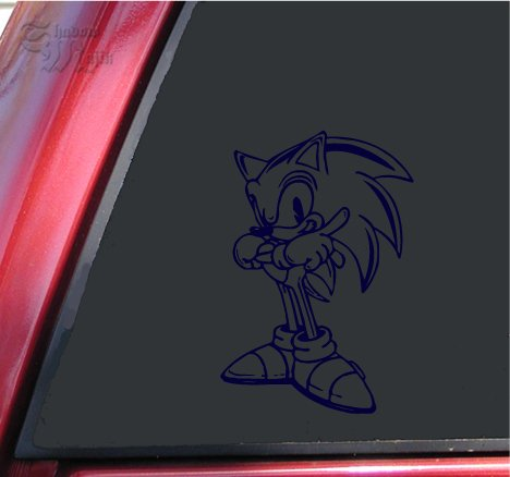 Sonic The Hedgehog Vinyl Decal Sticker Dark Blue Buy Online In Cayman Islands Shadowmajik Products In Cayman Islands See Prices Reviews And Free Delivery Over Ci 60 Desertcart